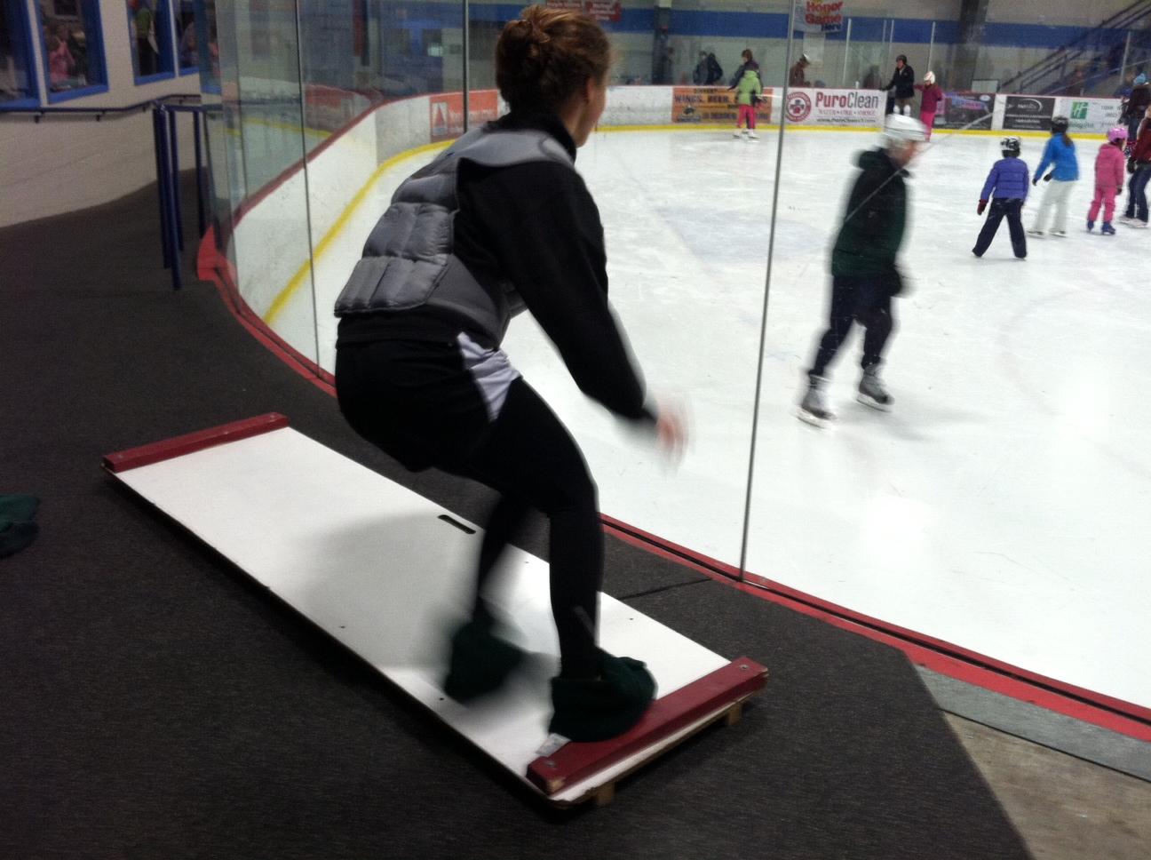 slide-board